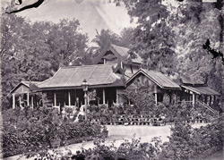 The Summer House in the Southern Garden where King Thibaw surrendered, [Mandalay]
